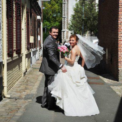 photo mariage original mariée jolie robe photographe mariage
